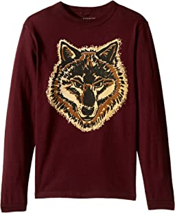 Stella McCartney Kids - Gene Wolf Printed T-Shirt (Toddler/Little Kids/Big Kids)