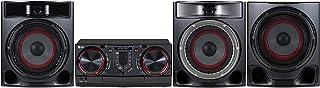 LG CJ45 Sistema de Audio para el hogar Minicadena de música para Uso doméstico Negro, Rojo - Microcadena (Minicadena de mú...