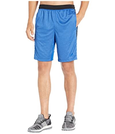 adidas 4Kraft 9 3-Stripe Shorts (Collegiate Royal/Heather) Men