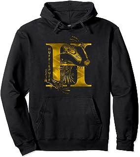 Harry Potter Hufflepuff H Logo Sweat à Capuche