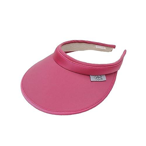 a5fd1376e47 Women s Clip On Visor Glove It Golf   Tennis Head Visors for Women UV 50  Protection