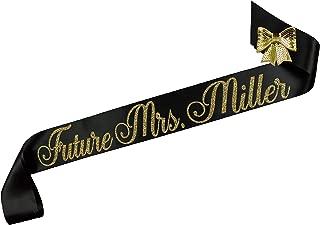 Personalized Future Mrs. Bridal Shower Sash