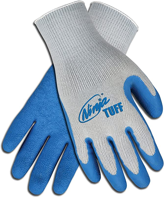 Safety Works CN9680TM Ninja Tuff Latex Coated Glove, Medium ratpfheu654444