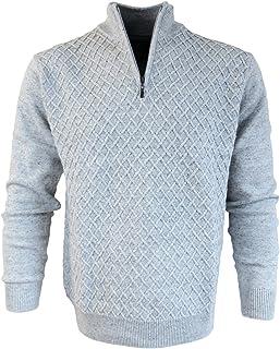 Maselli Herren Sweatshirt mit Stehkragen Brusttasche Reisser rot Gr 50 bis 60