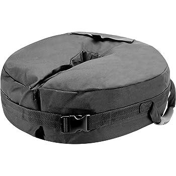 Baser Soporte para sombrilla con Sacos de Arena rellenables 30kg ...