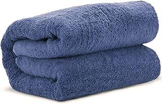 Towel Bazaar 100% Turkish Cotton Multipurpose Towels-Large Bath Sheet/Beach Towel/Bath Towel, Eco-Friendly (Oversized 40x80 inches, Wedgewood)