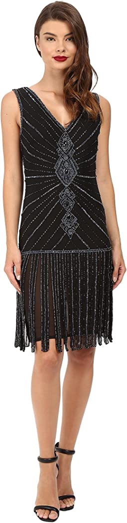 Deco Beaded Aelita Flapper Dress