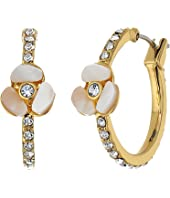 Kate Spade New York - Special Occasion Pave Hoops
