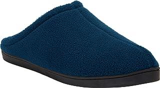 KingSize Men's Big & Tall Fleece Clog Slippers