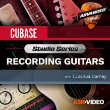 Recording Guitars Course For Cubase by Ask.Video