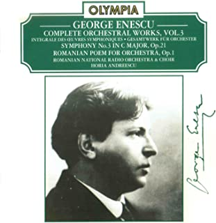 Romanian Poem for Orchestra, Op. 1