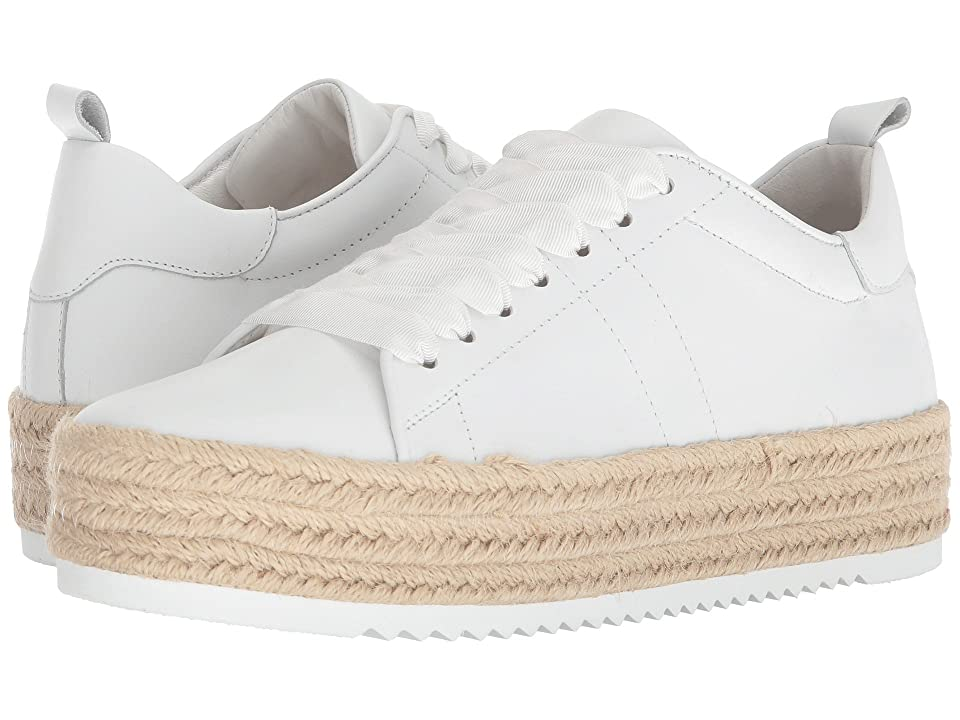Kennel & Schmenger Hill Espadrille Sneaker (White Calf) Women