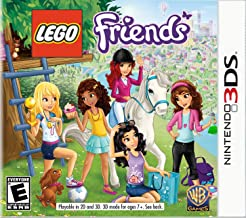 lego friends 3ds xl game