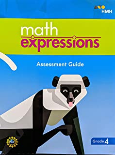 Math Expressions Assessment Guide (BlackLine Master with Answer Key) Grade 4, 9781328744258, 1328744256