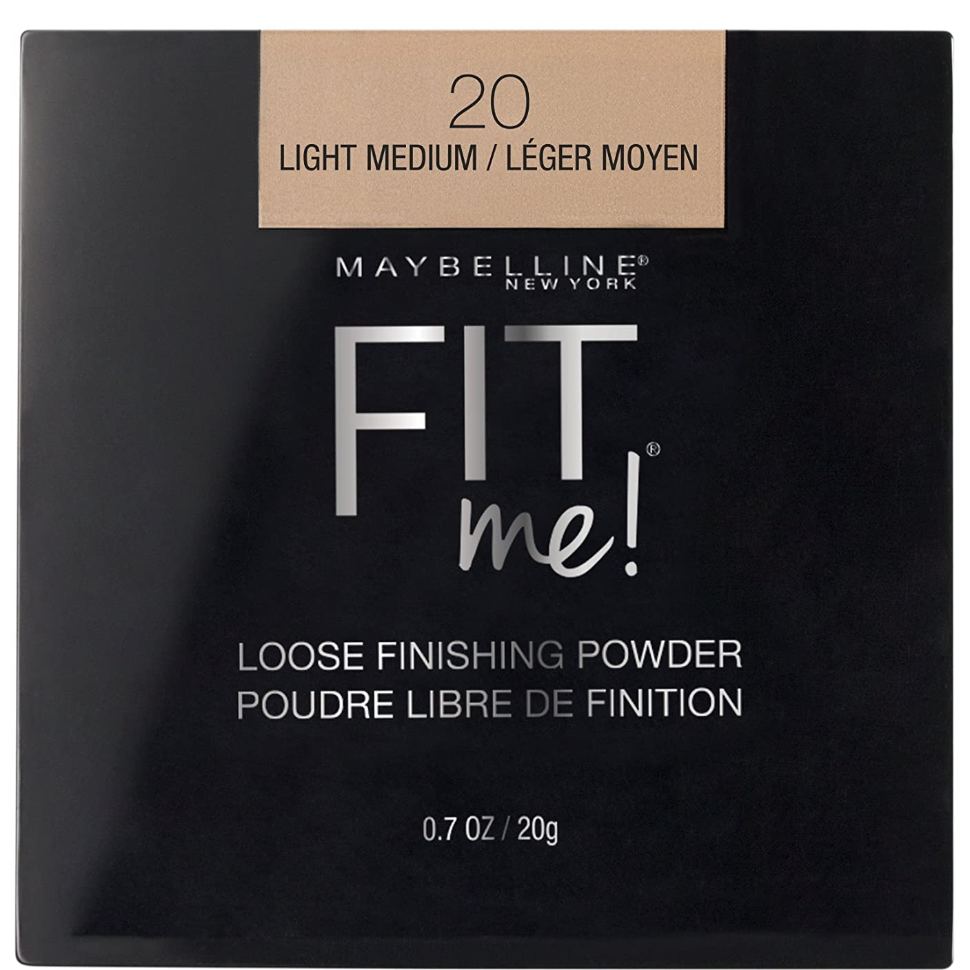 寮悪性のメディカルMAYBELLINE Fit Me! Loose Finishing Powder - Light Medium (並行輸入品)