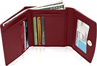 Access Denied Small Leather Trifold Wallets for Women - Slim Womens Wallet RFID Credit Card Holder Coin Pocket Mothers Day Gifts