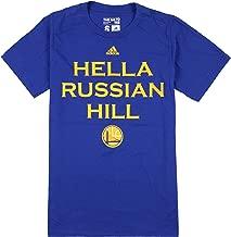 adidas Golden State Warriors NBA Hella San Francisco Neighborhood T-Shirt, Blue