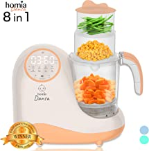 Baby Food Maker Chopper Grinder – Mills and Steamer 8 in 1 Processor for Toddlers..