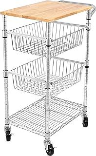 Metal Kitchen Islands & Carts | Amazon.com