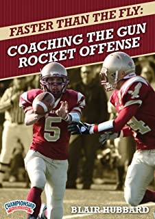 Championship Productions Blair Hubbard-Faster Than The Fly: Coaching The Gun Rocket Offense DVD