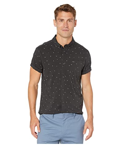 RVCA VA Little Buds Short Sleeve (Black) Men
