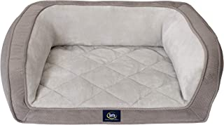 Serta Ortho Quilted Couch Pet Bed