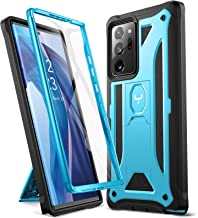 YOUMAKER Designed for Samsung Galaxy Note 20 Ultra 5G Case with Built-in Screen Protector & Kickstand Full Body Shockproof...