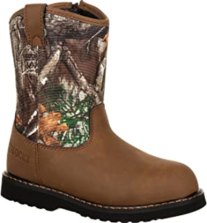 Rocky Big Kids' Lil Ropers Outdoor Boot