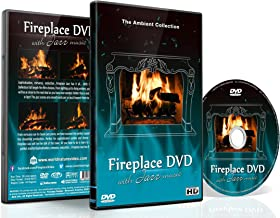 Fireplace DVD - Fireplace Jazz - Romantic Fireplaces with Jazz Music for Dinner Partys