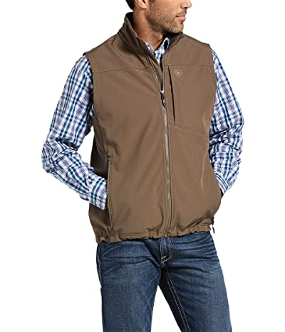 Ariat Logo 2.0 Softshell Vest (Morel/Camo) Men
