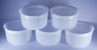 AlcoFermBrew 5 moldes de Queso de 9 x 5,2 cm – 0,35 kg