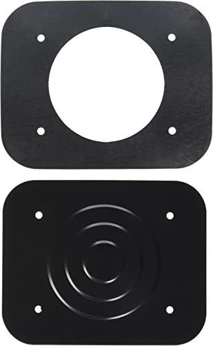Flameer Set of 2 Bass Drum Spurs Legs Bracket for Drum Set Replacement Accessory