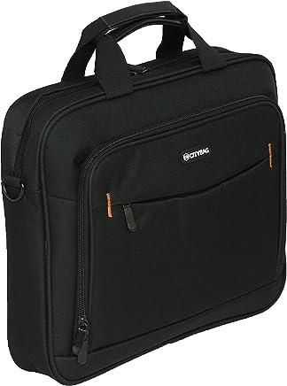 95f6c170ad City Bag - Porte-Documents pour Ordinateur Portable/Tablette - Style  Business - Matériau
