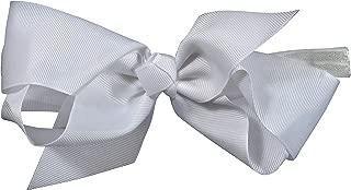 ES Kids Bow Headband - white, White