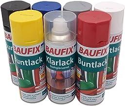 BAUFIX 800826401 Spray, blanke lak glanzend, 0,4 liter