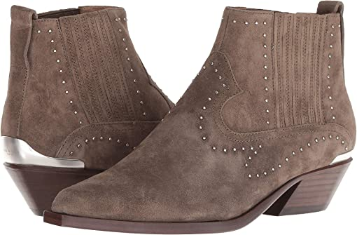 Taupe Suede Stud