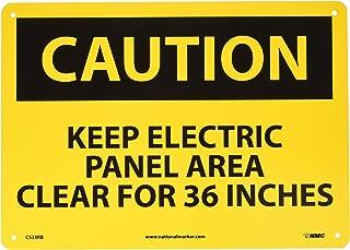 NMC C533RB OSHA Sign, Legend