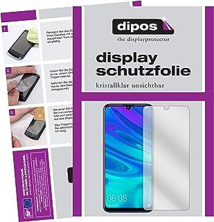 dipos I 6x skärmskydd kompatibelt med Huawei P Smart Plus (2019) Skyddsfilmer tydliga (3x framsida + 3x baksida)