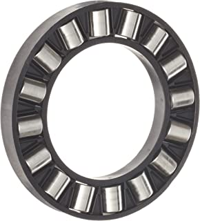 INA K81114TN Thrust Needle Bearing, Axial Cage and Cylindrical Roller, Single Row, Polyamide Nylon Cage, Open End, Metric, 70mm ID, 95mm OD, 7.5mm Width, 82lbf Static Load Capacity, 25lbf Dynamic Load Capacity