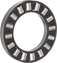 INA K81107TN Thrust Needle Bearing, Axial Cage and Cylindrical Roller, Single Row, Polyamide Nylon Cage, Open End, Metric, 35mm ID, 52mm OD, 5mm Width, 22.7lbf Static Load Capacity, 8.80lbf Dynamic Load Capacity
