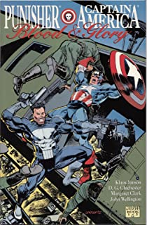 Punisher, Captain America (Blood and Glory, Vol. 1, Issue 3)