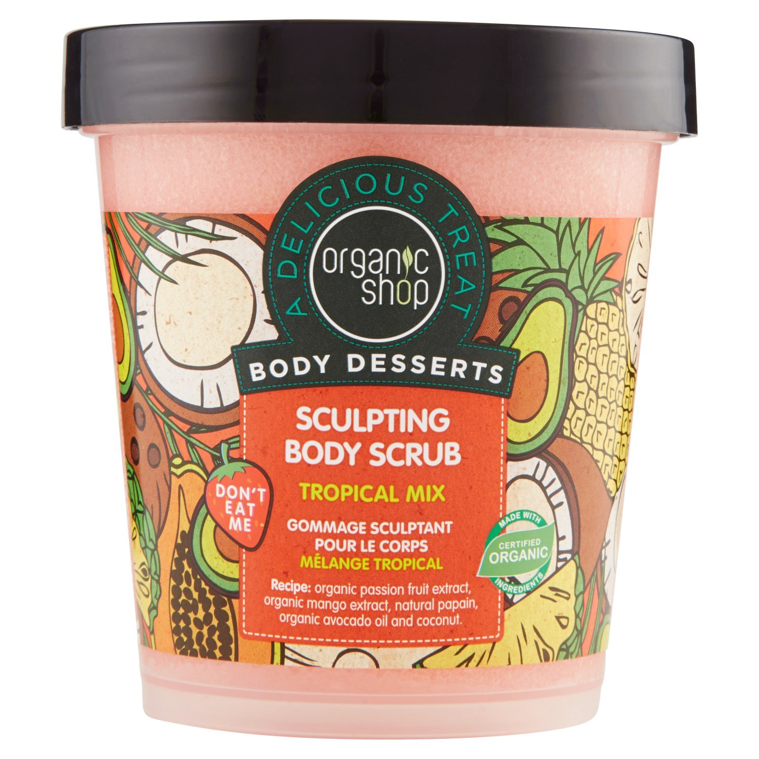 Organic Shop Body Desserts Tropical Mix Sculpting Body Scrub 450 Ml Buy Online In Cambodia Organic Shop Products In Cambodia See Prices Reviews And Free Delivery Over 27 000 Desertcart