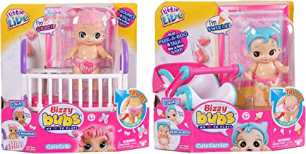 Little Live Bizzy Bubs HP Playset-Master Childrens Toy Bundled Playset-Peek-a-Boo Swirlee Childrens Toy
