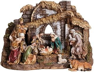 Joseph Studio 10 Piece Colored Christmas Nativity
