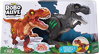 ROBO ALIVE - Attacking T-Rex Battery-Powered Robotic Toy (Green)