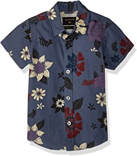 Quiksilver SHIRT ボーイズ カラー: ブルー