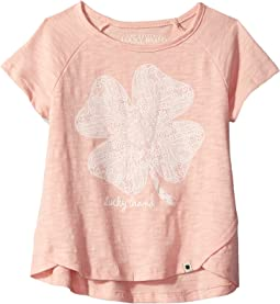 Lucky Lace Slub Jersey Tee (Big Kids)