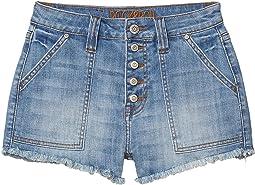 High-Rise Shorts in Medium Wash 68H4157