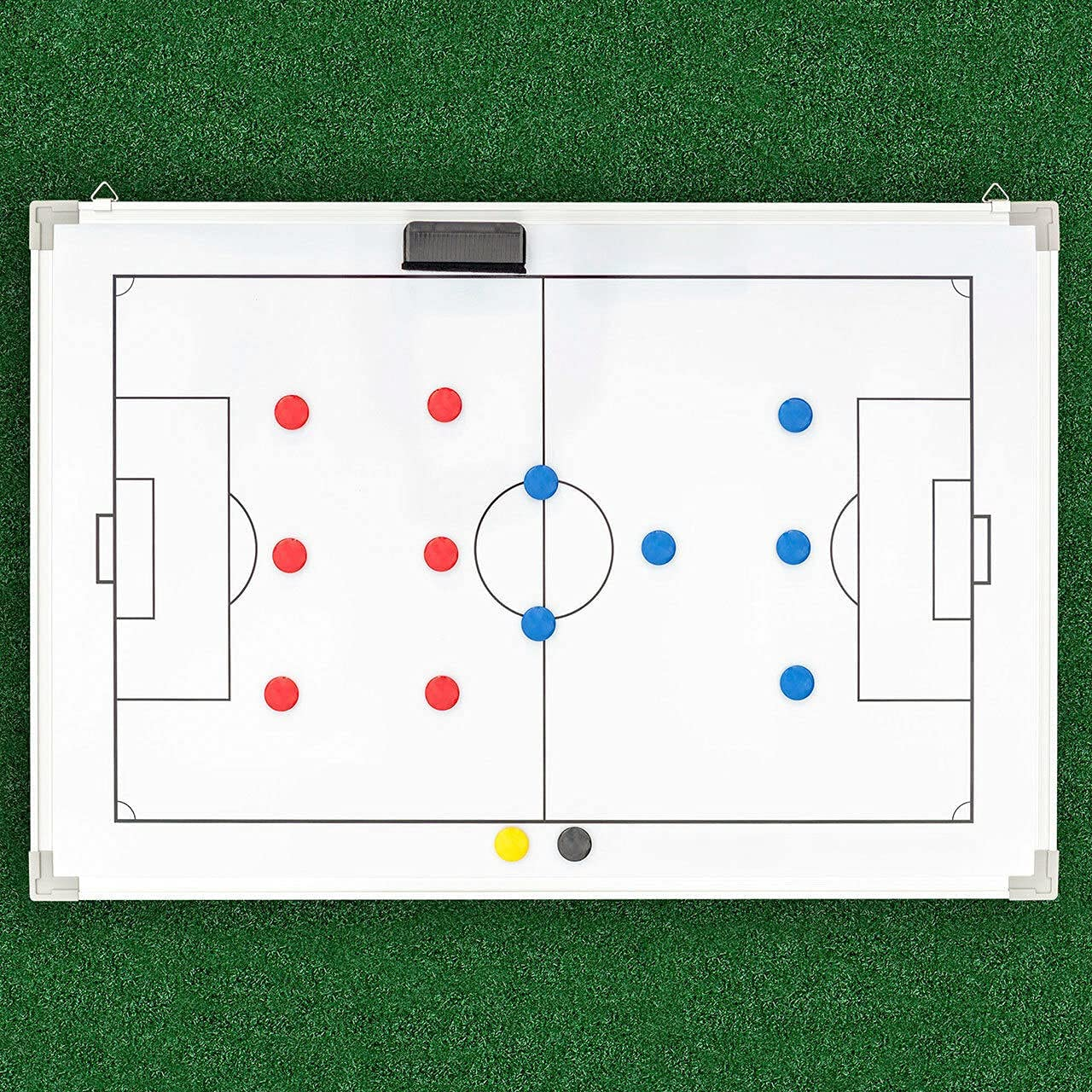 Purchase awagas Soccer Tactics Board Coaching 1 year warranty Double-Sided S