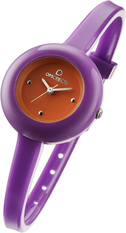 OPS Reloj OPS! Cherie Mujer Sólo el Tiempo Naranja Violeta - OPSPW-221